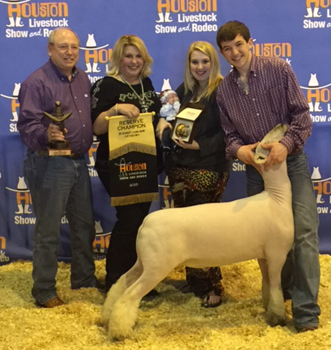 George Brothers Show Lambs - Winners